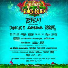 Big Dub Festival 2019 Lineup