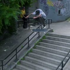 Charging the NY streets with @miltonmartinez : @justsomedude #shralpin #skateord…