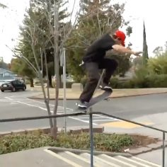 Check out the rail carnage from @chasewebb  up on @thrashermag @pizzaskateboards…