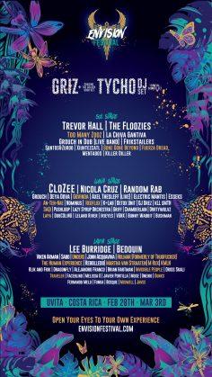 Envision Festival 2019 Full Lineup