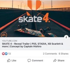 Finally #skate4 is coming out  Are you excited or did they drop the ball and wai…