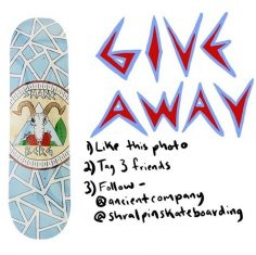 GIVEAWAY  Enter to win a deck from our friends at @ancientcompany; graphic by @…
