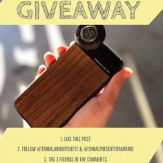 GIVEAWAY  Enter to win a fisheye lens from our  friends at @trabajandofisheye  …