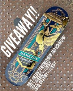 GIVEAWAY  Enter to win this signed Spencer Hamilton deck from our friends @thed…