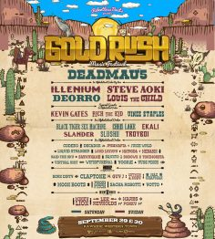 Goldrush 2018 Music Festival Announces Full Lineup