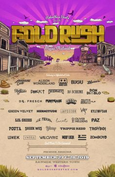 Goldrush Digs Deep On Second Round Lineup For Third Annual Festival, September 27 And 28, 2019