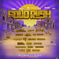 Goldrush Announces Phase 1 Lineup For Third Annual Festival, September 27 And 28, 2019
