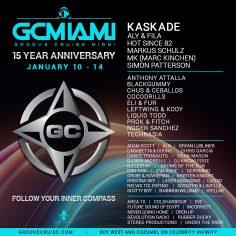Groove Cruise Miami 2019 Celebrates 15th Anniversary & Announces Phase I Lineup Feat. Kaskade, Aly & Fila, Hot Since 82, Mk, Markus Schulz, Simon Patterson + More!