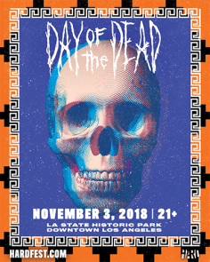 HARD Day Of The Dead Returns to LA State Historic Park on Saturday November 3