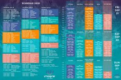 Imagine Music Festival 2018 Set Times & Schedule