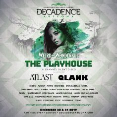 Decadence Arizona Announces Artists By Stage, Additions And Performance Art Concept