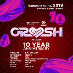 10th Anniversary Crush Arizona Announces A Heart Thumping Final Round Of Artists