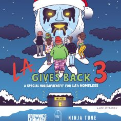 LA Gives Back – 4th Annual Holiday Benefit Series For The Los Angeles Homeless
