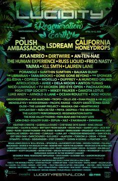 Lucidity Festival Reveals 2020 Lineup