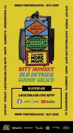 """""""Less Noise, More Music"""" an Exclusive Concert Event, Presented by Lucky Brand"""