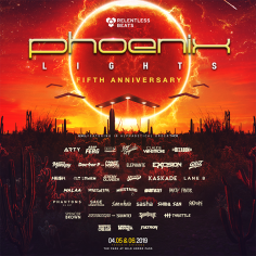 Black Caviar, Devault, Dillon Nathaniel, Vanic and More Added to Fifth Annual Phoenix Lights Festival