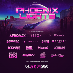 Phoenix Lights Festival Announces A Legion Of Intergalactic Artists