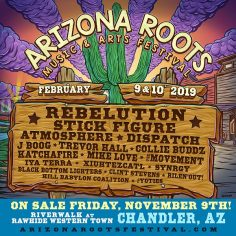 The Inaugural Arizona Roots Music & Arts Festival At Rawhide Western Town Is Coming February 9 & 10, 2019