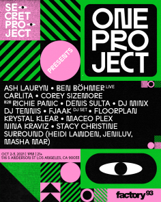 Secret Project Presents: One Project Los Angeles