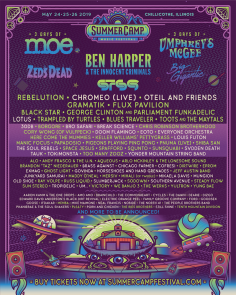 Summer Camp Music Festival 2019 Second Round of Artist Announcements