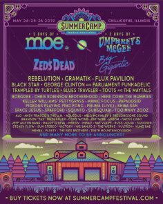 Summer Camp Music Festival 2019 First Round of Artist Announcements