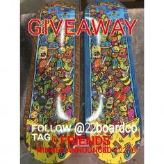 Enter to win this huge package from @22boardco  1. Like this post 2. Follow @22b…