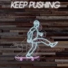 #KeepPushing our motto from @pistol_pat via @skatecrunchmag…