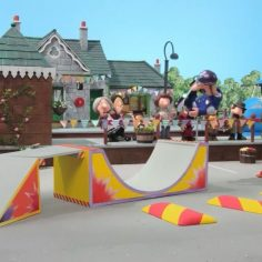 Postman Pat with a rodeo cat flip #nbd via @muckmouth…