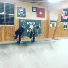 Synchronized skating with @yuutaishizuka & @ishizuka_ta98 via @minirampsteez…